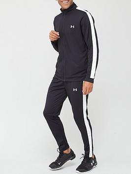 under-armour-training-knit-tracksuit-blackwhite