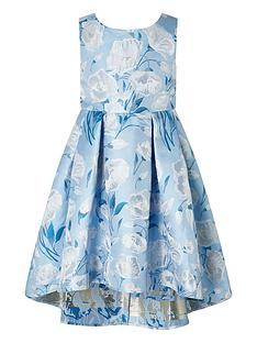 monsoon-girls-naya-jacquard-hi-low-dress-blue
