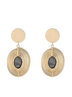 accessorize-shell-spiral-drop-earrings-gold