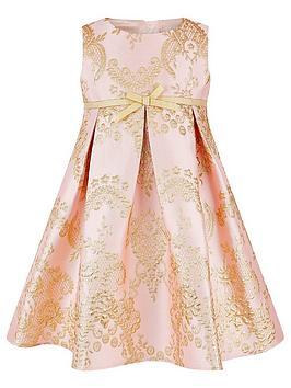 monsoon-baby-girls-rebecca-pink-jacquard-dress-pink