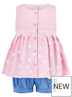 monsoon-baby-girls-suzie-spot-set-pink