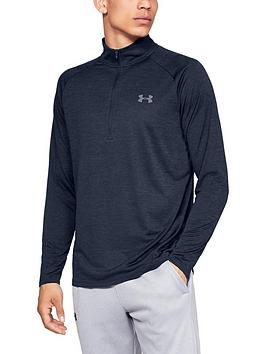 under-armour-trainingnbsptech-20-12-zip-top-academy