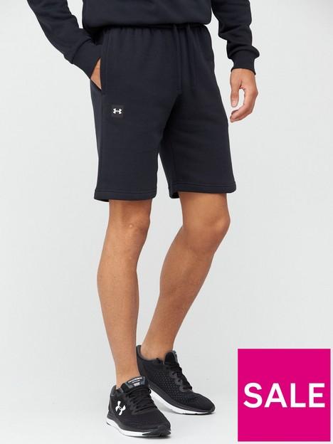 under-armour-under-armour-rival-fleece-shorts-blackwhite