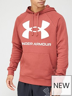 under-armour-rival-fleece-big-logo-hoodie-redwhite