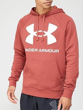 under-armour-rival-fleece-big-logo-hoodie-redwhite