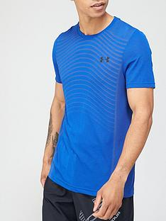 under-armour-seamless-wave-t-shirt-royal