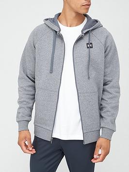 under-armour-trainingnbsprival-fleece-full-zip-hoodie-greywhite