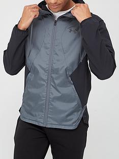under-armour-stretch-woven-hooded-jacket-blackgreynbsp