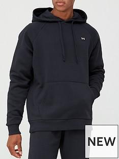 under-armour-rival-fleece-hoodie-blackwhite