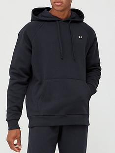 under-armour-trainingnbsprival-fleece-hoodie-blackwhite
