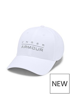 under-armour-wordmark-cap-white