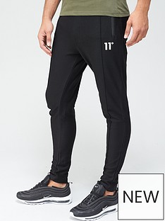 11-degrees-nitro-textured-pintuck-skinny-fitnbspjoggers-blacknbsp