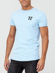 11-degrees-core-muscle-fit-t-shirt-air-blue