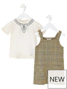 river-island-mini-mini-girls-check-pinny-dress-outfit-brown