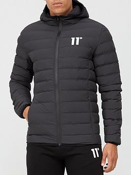 11 degrees space jacket - black