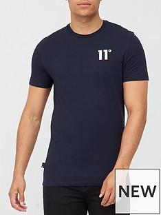 11-degrees-core-t-shirt-navy