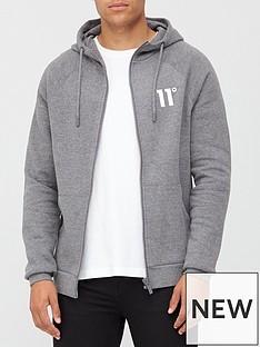 11-degrees-core-full-zip-hoodie-charcoal-marl
