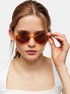 topshop-plastic-diamond-sunglasses-gold