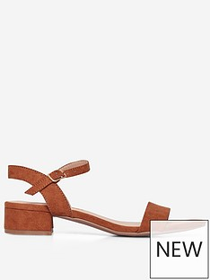 dorothy-perkins-wide-fit-sprightly-sandal-tan