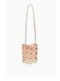 topshop-metal-shell-shoulder-bag-pink