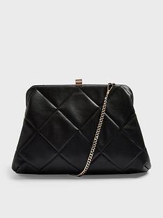 topshop-frame-quilt-clutch-bag-black