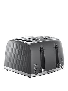 russell-hobbs-honeycomb-grey-4-slot-toaster-26073