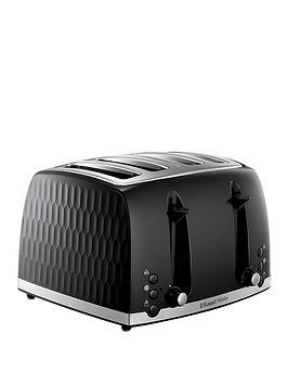 russell-hobbs-honeycomb-4-slice-black-plastic-toaster-26071