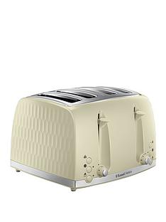 russell-hobbs-honeycomb-4-slice-toaster--nbspcream