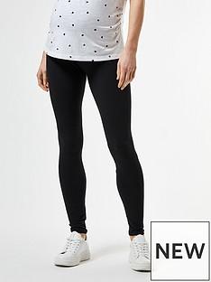 dorothy-perkins-maternity-2-packnbspoverbump-leggings-black