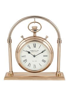 pacific-lifestyle-antique-brass-and-glass-carriage-clock