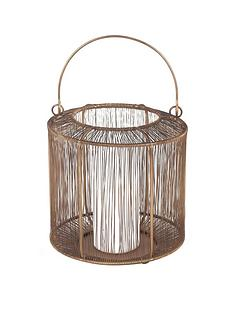pacific-lifestyle-mesh-metal-round-lantern-ndash-antique-brass