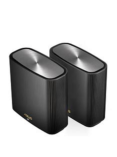 asus-asus-zenwifi-xt8-2-pack-wifi-6-ax6600-whole-home-wifi-tri-band-mesh-system-black