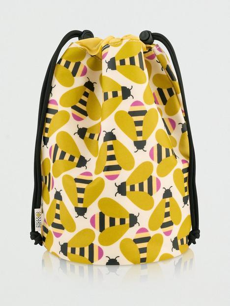 orla-kiely-busy-bee-barrel-wash-bag
