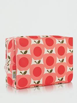 orla-kiely-apple-wash-bag
