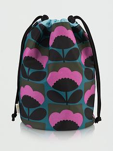 orla-kiely-spring-bloom-barrel-wash-bag