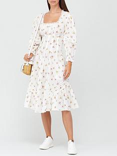 for-love-lemons-wildflower-floral-print-midi-dress-ivory