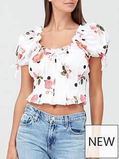 for-love-lemons-paloma-rose-and-dot-print-crop-top-white