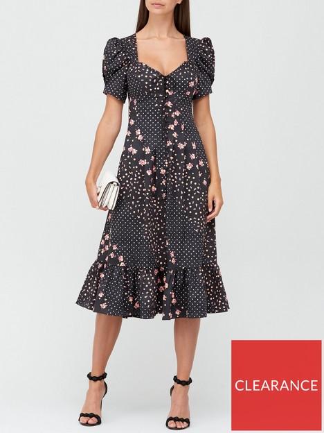 for-love-lemons-camellia-floral-and-polka-dot-midi-dress-black