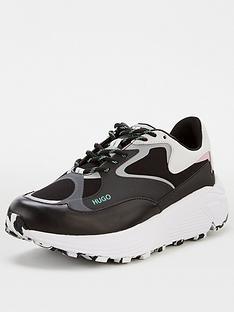 hugo-horizon-chunky-trainers-black