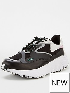 hugo-horizon-chunky-trainers-black