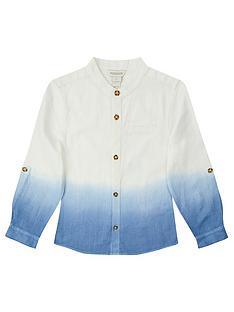 monsoon-boys-ovie-ombre-shirt-blue