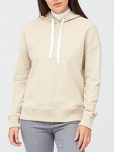 boss-logo-hoodie-oatmeal