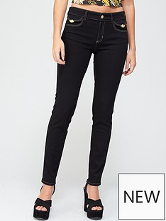 versace-jeans-couture-coated-skinny-jeans-black