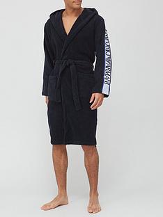 emporio-armani-bodywear-logo-dressing-gown-navy