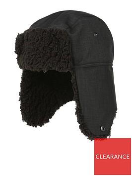regatta-halian-trapper-hat-black