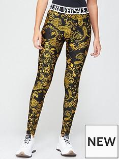 versace-jeans-couture-baroque-print-leggings-black