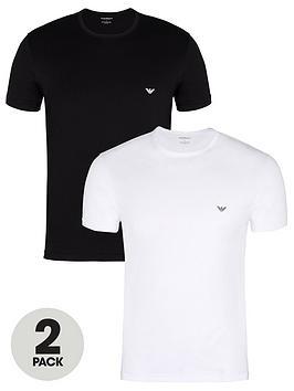 emporio-armani-bodywear-2-pack-pure-cotton-regular-fit-t-shirt-blackwhite