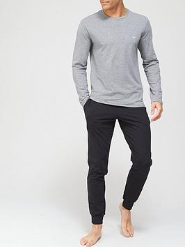 emporio-armani-bodywear-endurance-logo-lounge-set-greyblacknbsp