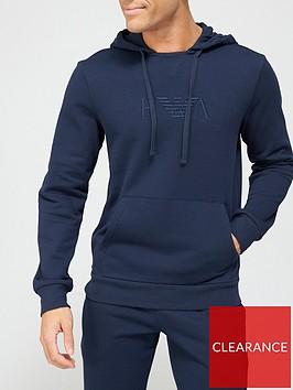 emporio-armani-bodywear-iconic-terry-lounge-pullovernbsphoodie-navynbsp
