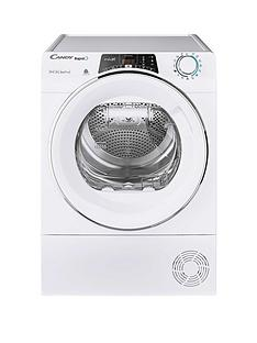 candy-rapido-roh9a2tce-9kg-load-heat-pump-tumble-dryer-white-chrome